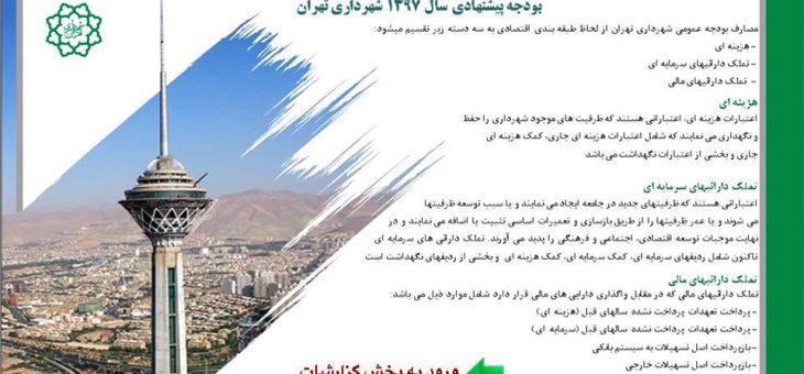 یک دعوت واقعی: درباره انتشار عمومی لایحه بودجه شهرداری تهران به صورت استاندارد و قابل تحلیل