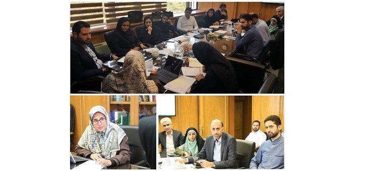 وضعیت استقرار سامانه قراردادها در سازمانها و شرکتهای تابعه شهرداری تهران (گزارش جلسه)