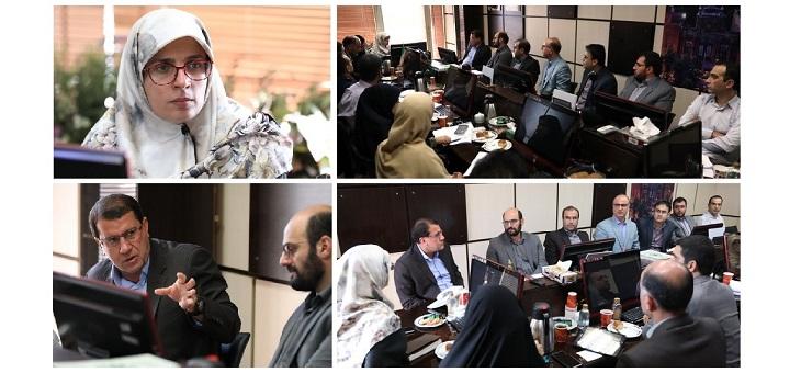 نظارت سازمان بازرسی بر حسن اجرای مصوبات حوزه شفافیت (گزارش جلسه)